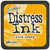 yellow stamp pad - Ranger Tim Holtz Distress Ink Pads, Mini, Wild Honey