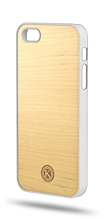 new concept c6ac7 1d4a9 Keyway | Maple iPhone 5/5S Hybrid Case [White Shell]: Amazon.ca ...