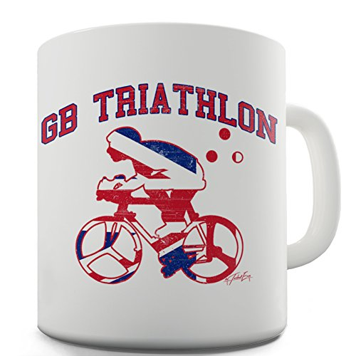 Twisted Envy GB Triathlon Ceramic Novelty Mug (Gb Triathlon)