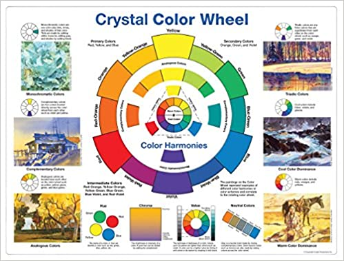 Amazon In Buy Crystal Color Wheel Book Online At Low Prices In