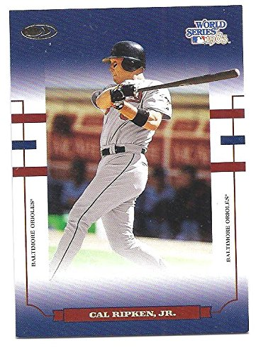 - CAL RIPKEN, JR. 2004 Donruss World Series Blue #70 Card Baltimore Orioles Baseball