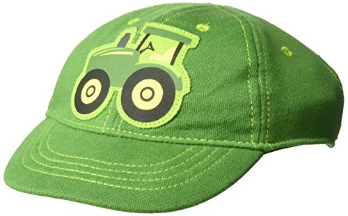 John Deere Baby Boys Baseball Cap, Green, Infant