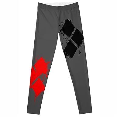 06bbb0332ff41 candice elsa Women Leggings Elastic Fitness Rhombic Printed Female Pants  zjl041 (S-XL(