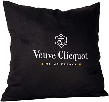 Veuve Clicqout Throw Pillow