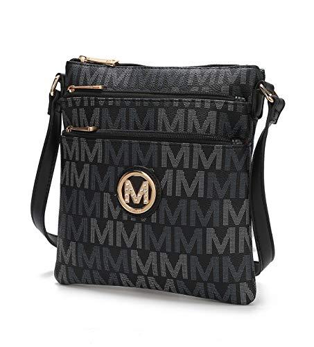 Multi Pocket Light weight Shoulder bag Lemuel M Signature Crossbody Bag by  Mia K. Farrow 715496c5093fb