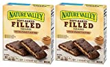 Nature Valley Soft Baked Filled Squares Cocoa Peanut Butter, 5 Bars (2 Boxes)