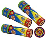 Schylling Classic Tin Kaleidoscope Party Set Bundle Includes Exclusive Matty's Toy Stop Storage Bag - 3 Pack