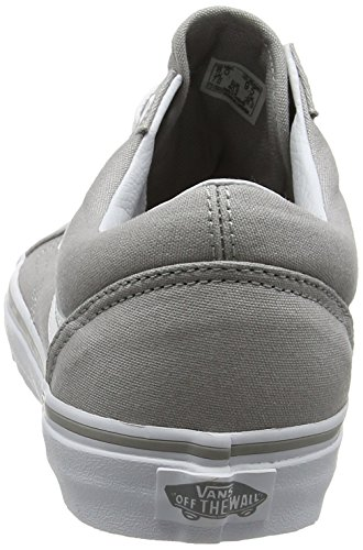Mens Drizzle Black White White Skool Classic Trainers Old True Vans 0wFXUt
