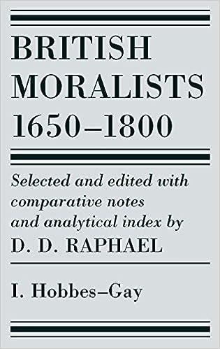 Descargar En Torrent British Moralists: 1650-1800 (volumes 1): Volume I: Hobbes - Gay: Vol 1 El Kindle Lee PDF