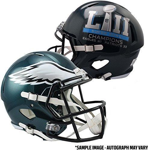 Riddell Philadelphia Eagles Super Bowl LII Champions Revolution Speed Replica Football Helmet - Fanatics Authentic Certified (Riddell Eagles Philadelphia Revolution)