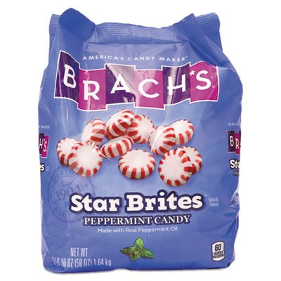(Star Brites Peppermint Candy, Individually Wrapped, 58 oz Bag)