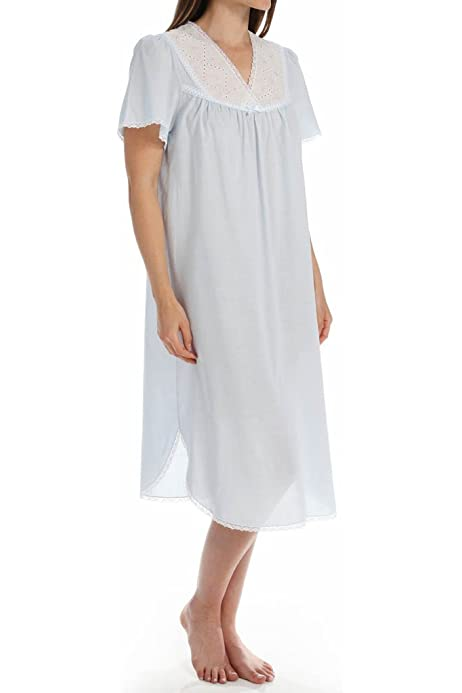 Nightgown Waltz Length 100/% Cotton Made in USA Great Price for the Warm Weather