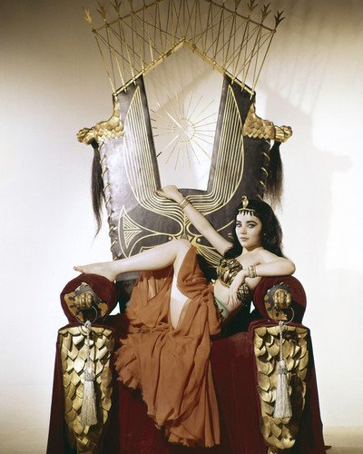 Brigid Bazlen in King of Kings sexy pose as temptress Salome 11×14 Promotional Photograph
