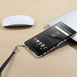 Creazy Luxury Aluminum Metal Alloy Skin Bumper Frame Case For Sony Xperia Z5 Premium (Black)