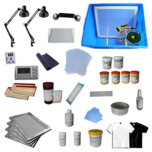 Screen Printing Equipments & Materials Kit - 006801 by Screen Printing Kits