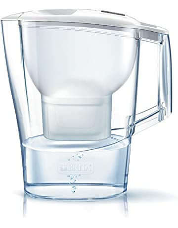 Brita AlunaMAXTRA+ Jarra de Agua Filtrada con 1 Cartucho, Filtro de Agua Brita que Reduce