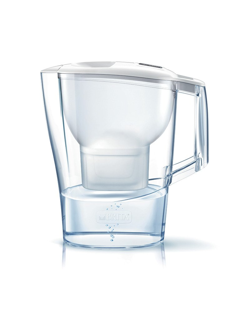BRITA Aluna XL Water Filter Jug and Cartridge, White S0510