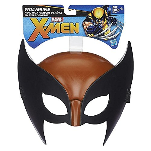 Marvel X-Men Brown & Black Wolverine Hero Mask - Wolverine Brown Costume