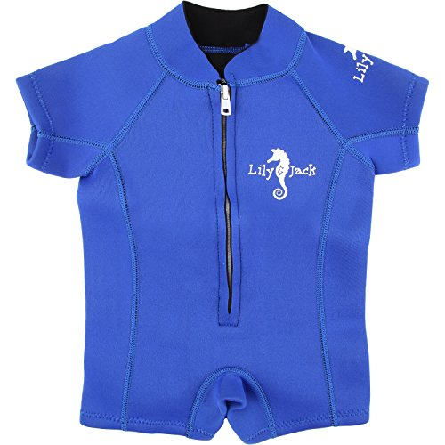 Baby Swimsuit / Wetsuit. Swimwear for Boy and Girl Toddlers with UV protection. (Medium / 18-24 Months, - Sizes Chart Wetsuit