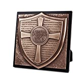 Lighthouse Christian Products Moments of Faith Full Armor of God Sculpture Plaque, 8 3/4 x 8 3/4''