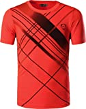 Sportides Boy's Quick Dry Active Sport Short Sleeve Breathable T-Shirt Casual Tee Top LBS701