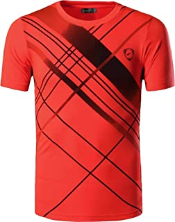 jeansian Boys Quick Dry Sport Short Sleeves Breathable T-Shirt Tee LBS701