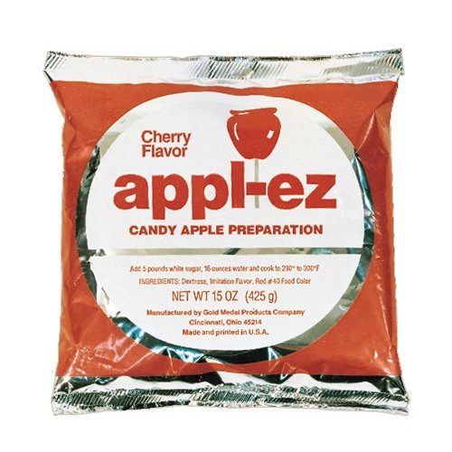 Cherry Flavor Apple EZ Candy Apple Mix by the Bag (Gold Candy Apples)