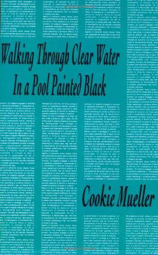Walking Through Clear Water in a Pool Painted Black (Native Agents)
