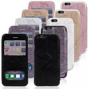 JJE Lightning Pattern Polycarbonate Case for iPhone 6 (Assorted Colors) , White