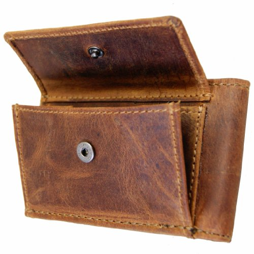 brown leather MALTZAHN purse money Men's BARON MINI of of 1ZOqnU