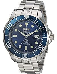 Invicta Men's 'Pro Diver' Automatic Stainless Steel Casual Watch, Color:Silver-Toned (Model: 16036)