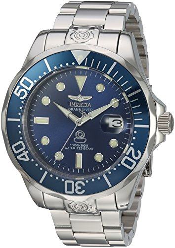 Invicta Men's 'Pro Diver' Automatic Stainless Steel Diving Watch, Silver-Toned (16036) ()