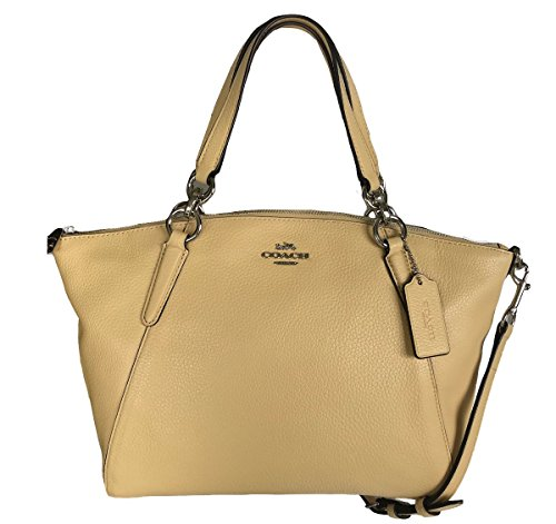Coach Leather Small Kelsey Cross Body Bag ()