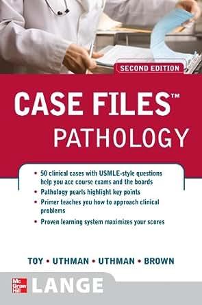 Amazon com: Case Files Pathology, Second Edition (LANGE Case