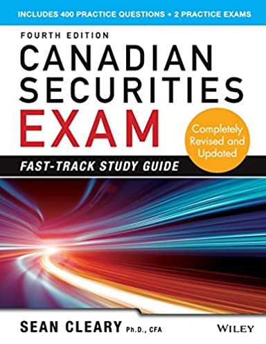 canadian securities exam fast track study guide w sean cleary rh amazon ca Canadian Securities Course Book Canadian Securities Course Book
