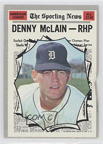 Denny McLain COMC REVIEWED Poor (Baseball Card) 1970 Topps #467
