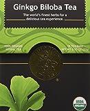Gingko Biloba Tea - Organic Herbs - 18 Bleach Free Tea Bags