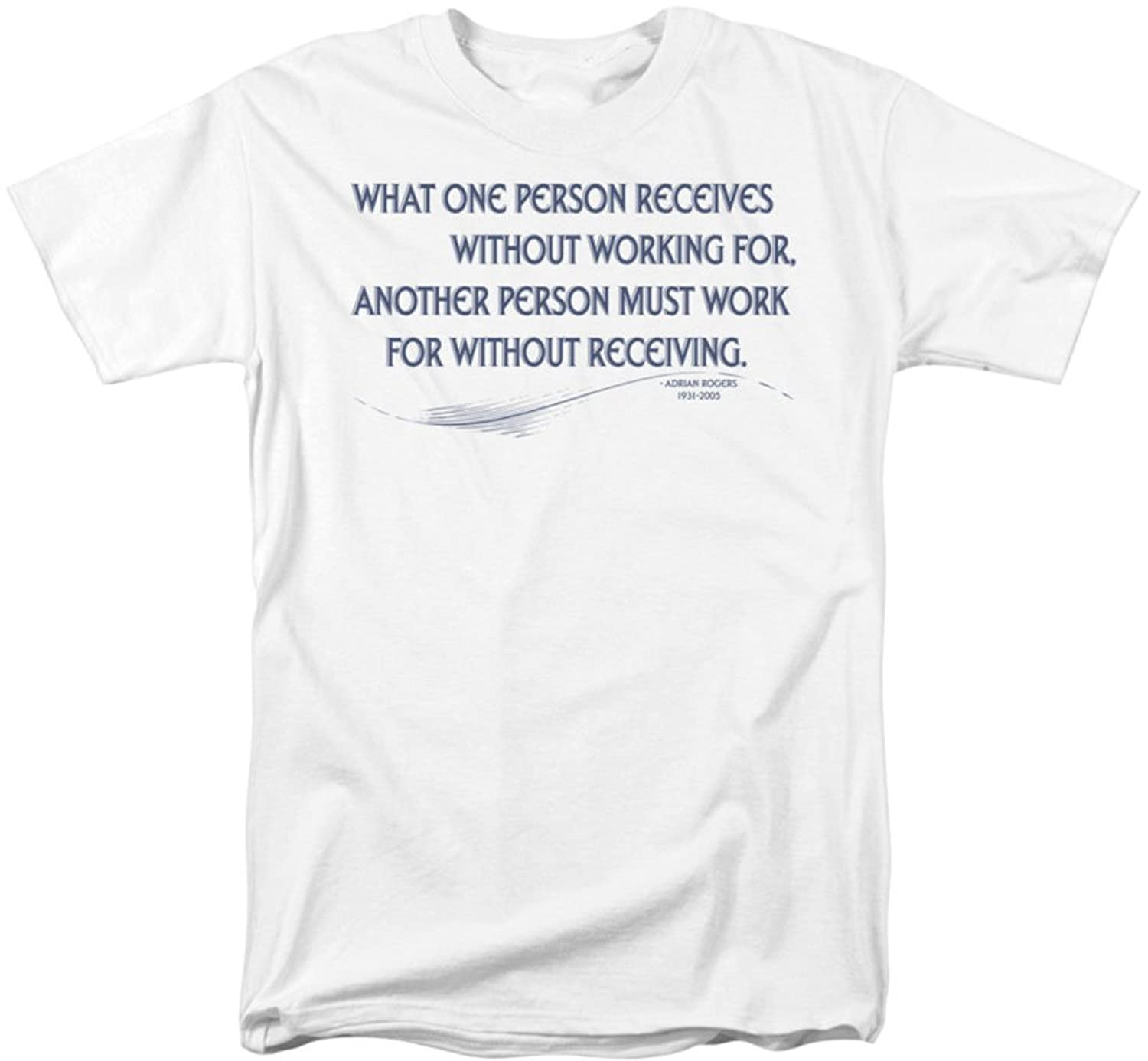 Funny Tees - Mens One Person Receives T-Shirt