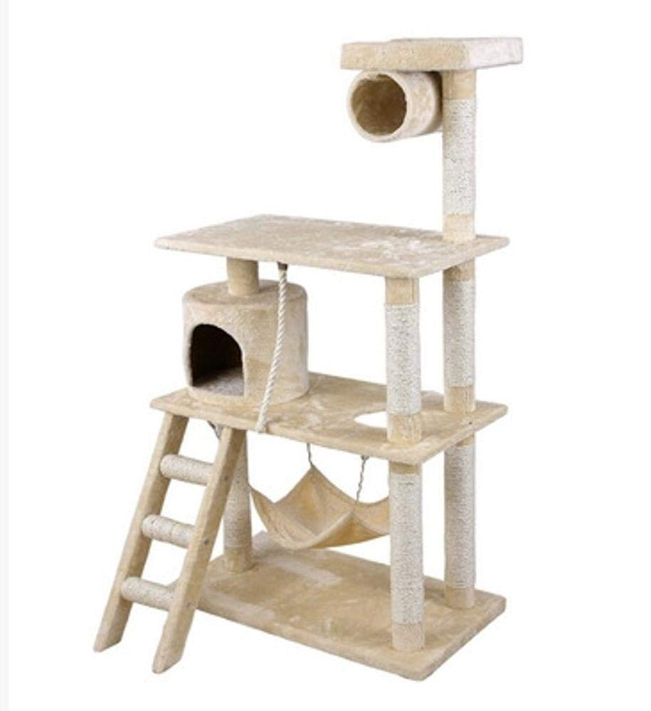 A Daeou cat trees towers Cat Scratch Board Cat Platform Cat toy Cat Supplies 65  50  155cm