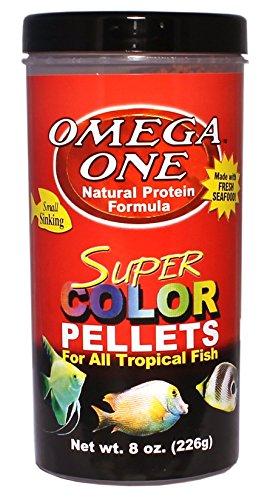 Image of Omega One Super Color Pellets - Sinking 8oz.