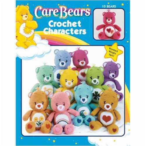 Leisure Arts-Care Bears Crochet (Care Bear Tummy Symbols)