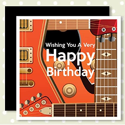 Happy Birthday Cards With A Music Theme HANK Amazoncouk Kitchen Home