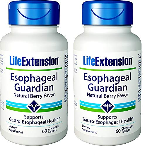 Esophageal Guardian 60 chewable Tablets-Pack-2 ()
