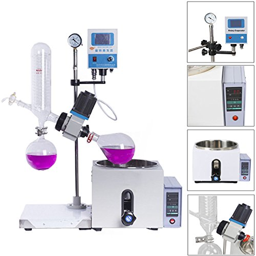 1L-5L 110V 0-120rpm High Performance Lab Rotary Evaporator for sale  Delivered anywhere in USA