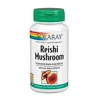 Solaray Reishi Mushroom 600mg | Healthy Immune, Cardiovascular & Brain Function...