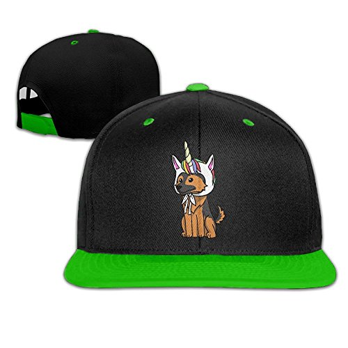 Four Seasons Hat (Men Women Funny Unicorn German Shepherd Fashion Baseball Caps Adjustable Hip Hop Dad Snapback Hat For Four Seasons)