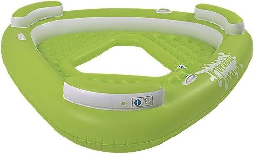 Pool Central Piscina hinchable triangular de 76 cm, diseño de ...