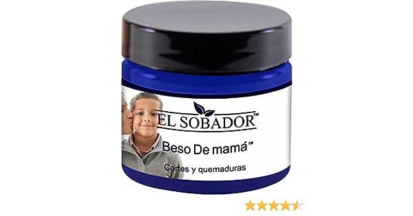 Amazon.com: El Sobador Beso De Mamá - Crema De Primeros Auxilios - para aliviar QUEMADURAS y SARPULLIDOS después de la Depilación (4.06 Oz): Home & Kitchen