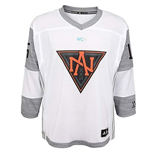 Adidas Jack Eichel #15 North America Youth World Cup of Hockey Away Premier Jersey (Youth (S/M))