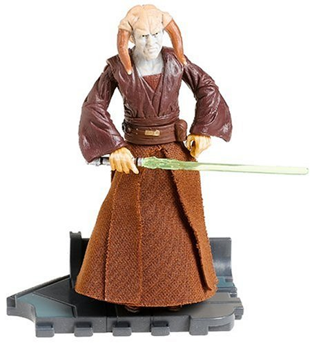 Jedi Council Members - Star Wars Episode III Revenge of the Sith Saesee Tiin Action Figure #30 3.75 Inches
